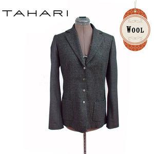 Tehari Grey Wool Blazer